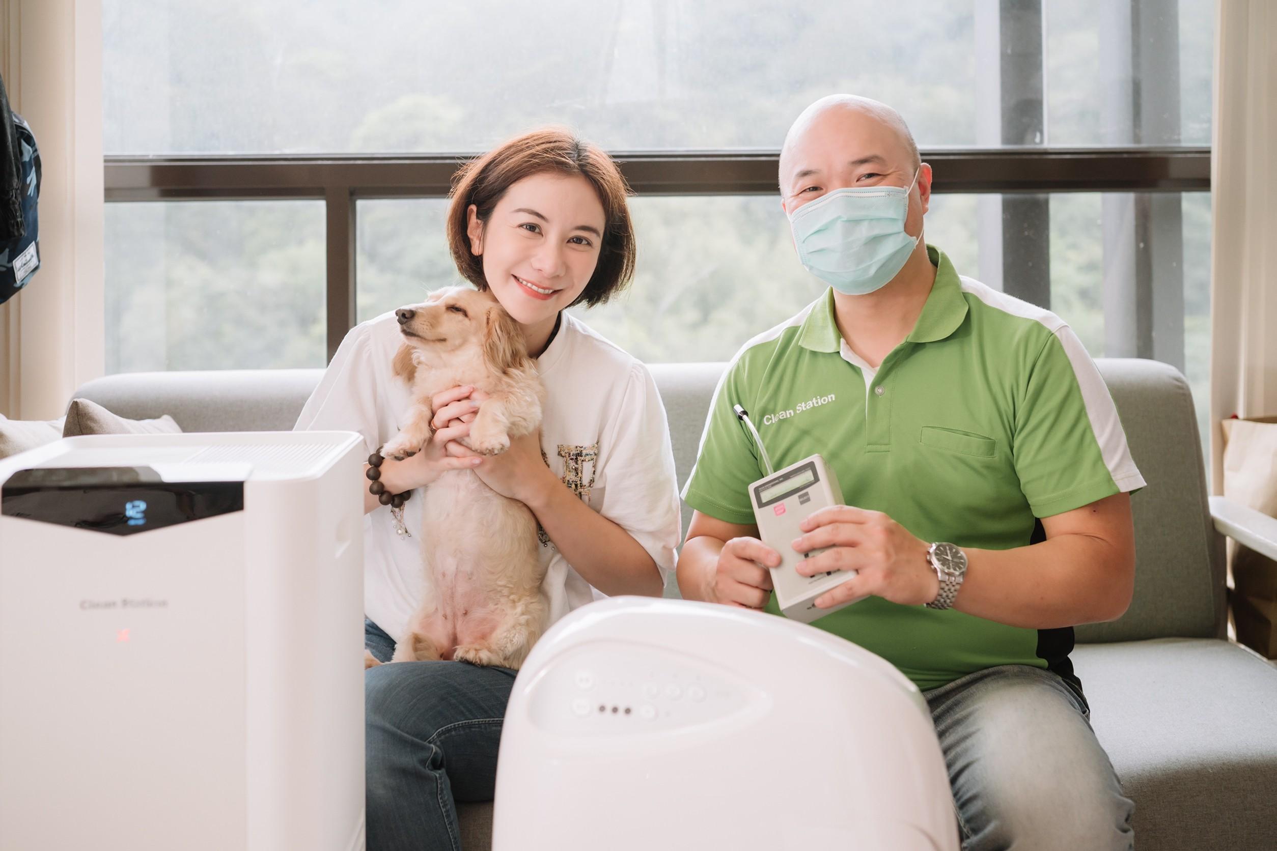 推薦MIT品牌 克立淨空氣清淨機,最強空氣保全,我們一家擁有純淨好空氣!